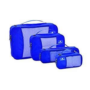 Eagle Creek Pack-It Cube Set with Slim Tube Cube, Blue Sea