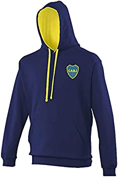 color azul Sudadera Boca Juniors Ultras Argentina Sudam/érica