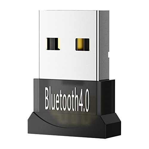 Mpow USB Bluetooth 4.0 Adapter, Low Energy Micro Adapter, Wireless Bluetooth USB 2.0 Dongle for Computer/PC with Windows 10, 8.1, 8, Vista to Connect with Bluetooth Headphones/Speakers & Smart Phone