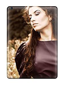 Anti-scratch And Shatterproof Woman On The Field Phone Case For Ipad Air/ High Quality Tpu Case