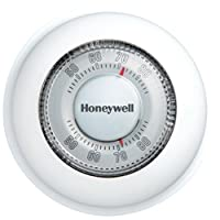 Honeywell CT87K1004 /E1 No disponible CT87K El termostato manual RoundHeat Only Only, grande, blanco