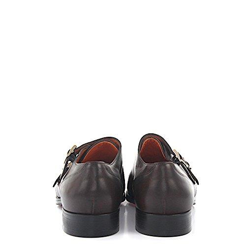 Doppel-Monk 15345 Leder Braun