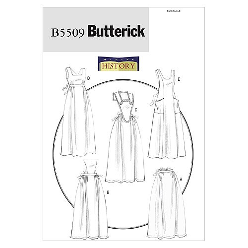 Butterick Patterns B5509 Aprons