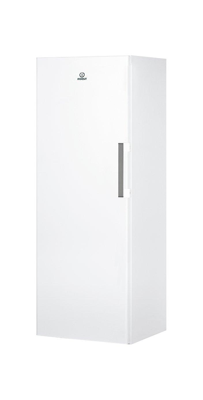 Indesit UI6 F1T W Independiente Vertical 222L A Congelador Blanco Vertical, 222 L, 20 kg//24h, SN-T, Sistema de descongelado, A+