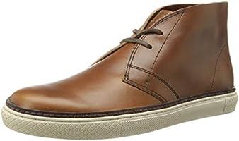 FRYE Men's Gates Chukka Fashion Sneaker, Whiskey, 8.5 M US