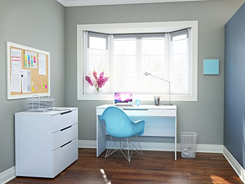 Arobas Home Office Kit with Desk & 3 Drawer Filing Cabinet