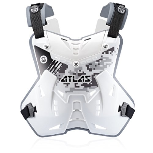 Atlas Defender Lite Front Chest Protector Adult Digital Arctic