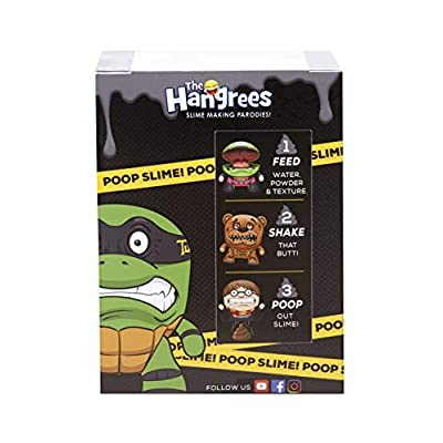 Hangrees The Harry Plopper Collectible Parody Figure with Slime: Toys & Games