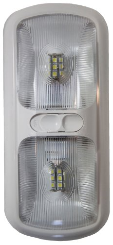 Arcon 20670 Bright White EU-Lite Double LED Light with Optic Lens