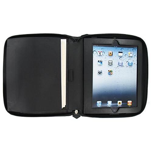 Filofax Agenda A5 Pennybridge Zip Organiseur pour iPad 2/3/4 Noir