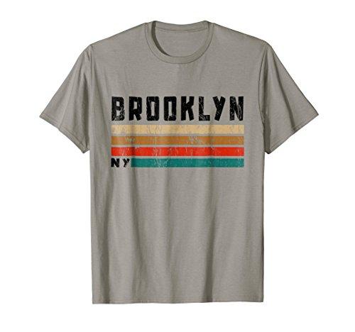 Brooklyn T-Shirt NY Retro Vintage Shirt Gift Men Women Kids