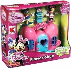 Amazoncom Disney Minnie Mouse Bow Tique Flower Shop Toys Games