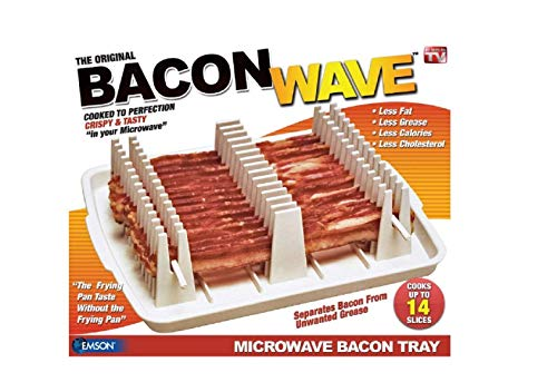 Bacon Wave Microwave Bacon Tray Boxed