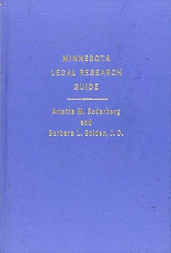 Minnesota Legal Research Guide