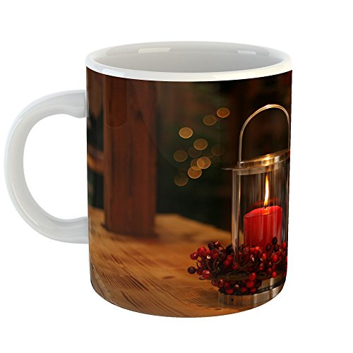 Red Flower Prayer Bowl (Westlake Art - Candle Red - 11oz Coffee Cup Mug - Modern Picture Photography Artwork Home Office Birthday Gift - 11 Ounce (ACA3-08BEC))