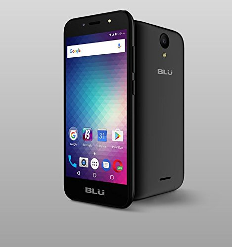 BLU Studio J2 (8GB) 5.0″ Smartphone – GSM Factory Unlocked (US Warranty) (Metal Black)