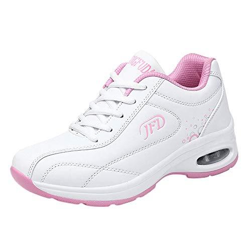 légères ont espadrilles rembourré roses cuir antidérapante baskets chaussures plates ficelles des avec d'automne Polpqed des en des respirant des et femmes de gymnastique de Les loisirs d'hiver UPfqawRFHH