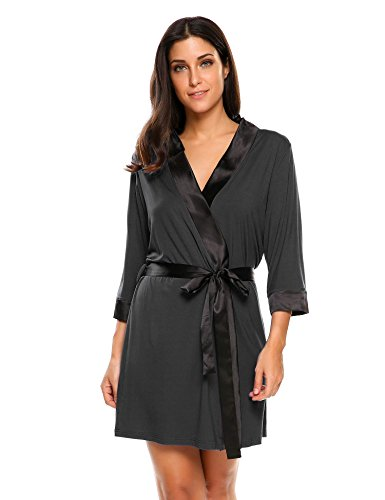 Ekouaer Womens Viscose Sleepwear Dressing product image