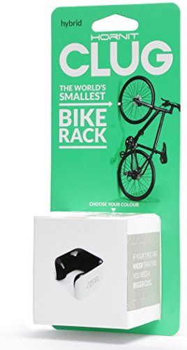 Hornit Clug Minimalist Bike Storage Rack - Indoor & Outdoor Bicycle Clip/Mount