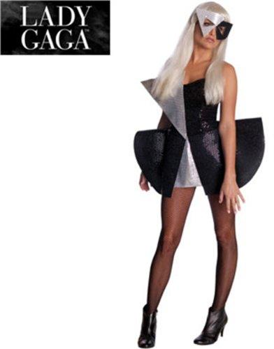 Lady Gaga Black Sequin Halloween Costume - Size Small (6-10) ()