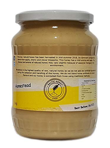 Miel pura y natural (Bosque Oscuro, 1 kg): Amazon.es: Alimentación y bebidas