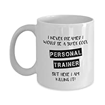 Personal Trainer - Coffee Mug - Personal Trainer Mug - Gift For Trainer - Coffee - PT Gift - Fitness - Funny Coffee Mugs - Crossfit