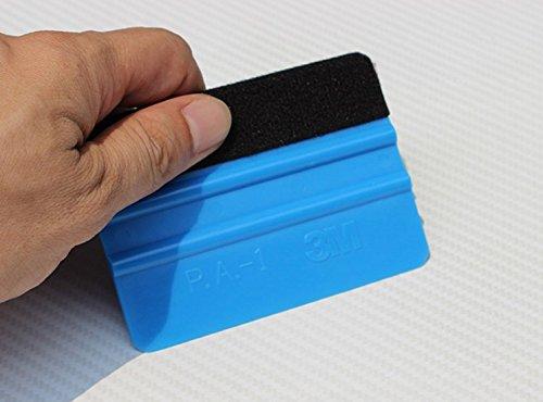 Ocamo 3 M limpiacristales 3D de Fibra de Carbono película de Vinilo Herramienta de Pegatina de Coche estilismo Herramientas...