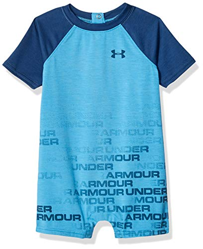 Under Armour Baby Boys Coverall, Ether Blue, 9/12M