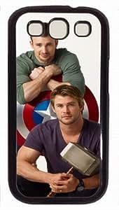Captain America PC Black Case for Samsung Galaxy S3 I9300, Captain America black Samsung Galaxy S3 I9300 case