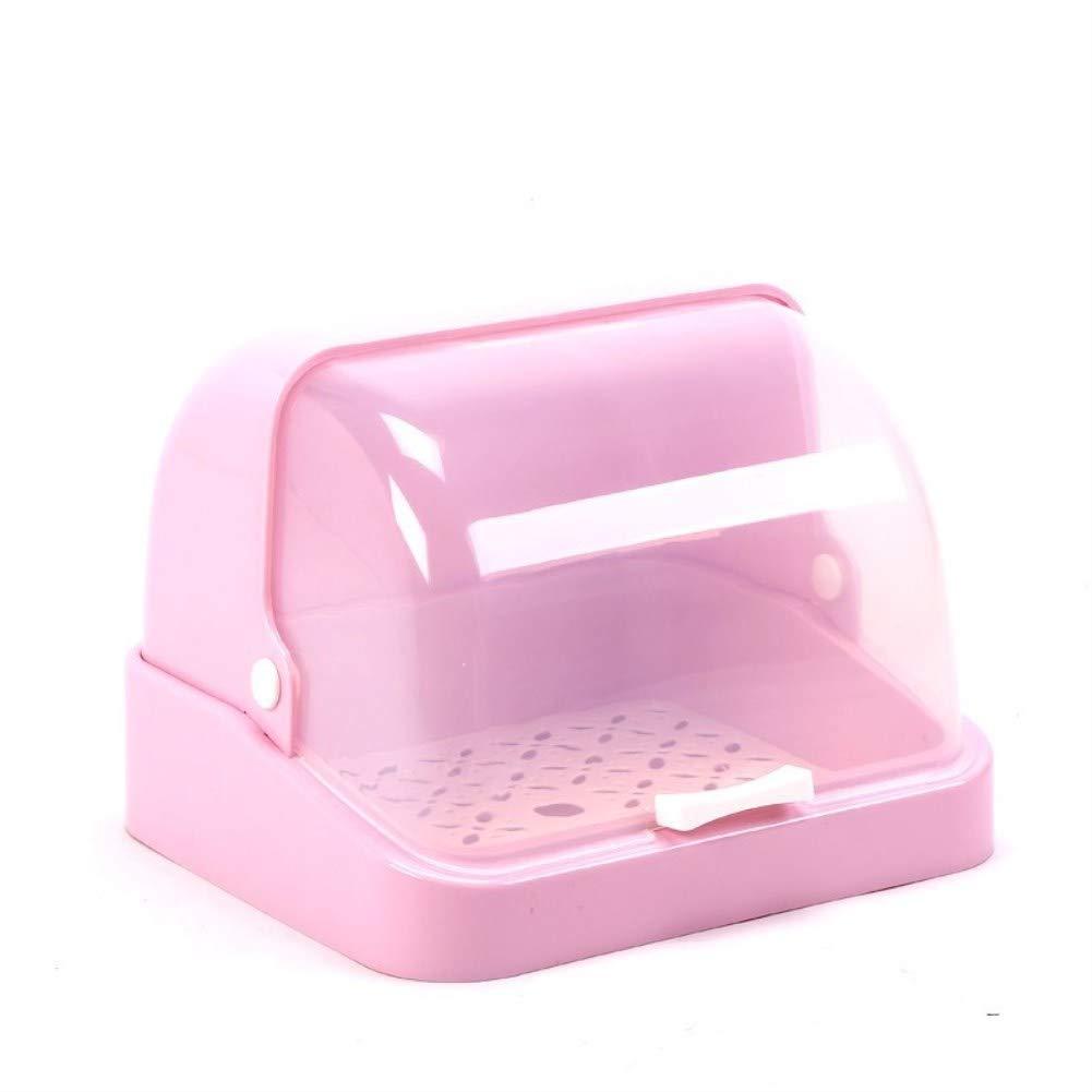 DDLL Sterilisatoren Babyflaschen Aufbewahrungsbox Wä schestä nder Mit Anti-Staub-Abdeckung Brot Box Geschirr Flasche Finishing Boxen