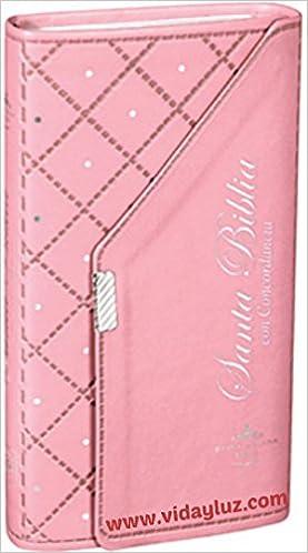 Biblia Estilo Chequera Imi Piel Rosa Con Concordancia RVR1960 Con Concordancia Broche: Reina Valera 1960: 7898521818142: Amazon.com: Books