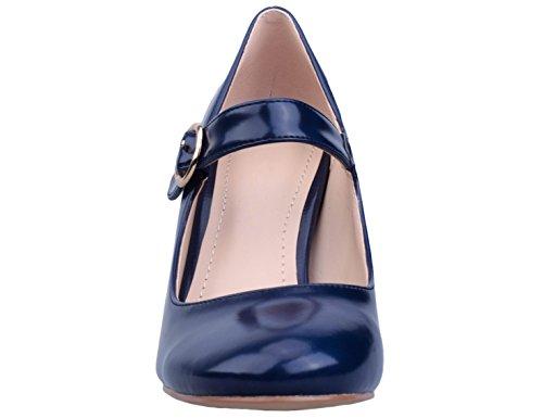 Escarpins EU Femme Bleu 41 Greatonu 36 Chaussures Rq8av