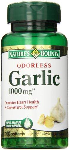 Bounty ail Nature, Inodore, 1000 mg, gélules, 100 ct.
