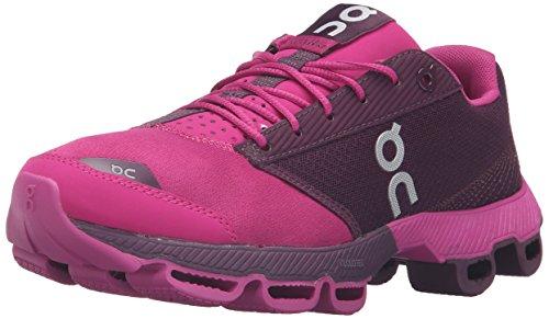 ON Womens Cloudster Sneaker Magenta/berry