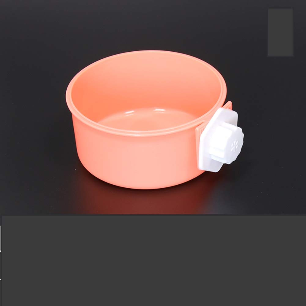 A Pet Drinking Water Eating Bowl,Fixed Hanging cage pet Food BowlM