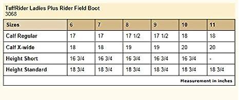 TuffRider Womens Plus Rider Field Boots JPC Equestrian Inc