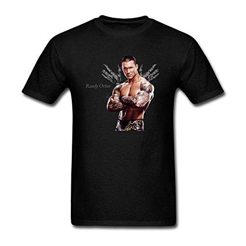 VEBLEN Men's Randy Orton Design Cotton T Shirt
