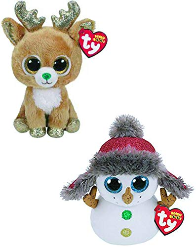TY Buttons & Glitzy - 2 pc Christmas Set ()