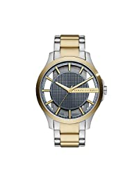 Armani Exchange AX2403 Men's Quartz Stainless Steel Casual Watch, Gold-Toned