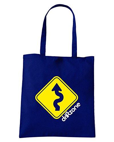 T-Shirtshock - Bolsa de playa de Algodón  Mujer azul navy