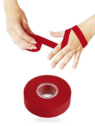 KK Hygiene Sporttape 2 cm x 10 m rot, 1er Pack (1 x 12 Stück)