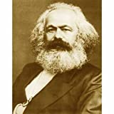 Quality digital print of a vintage photograph - Karl Marx. Sepia Tone 8x10 inches - Luster Finish