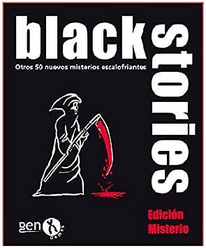 Black Stories - Juego de Mesa, edición Misterio (Gen-X Games GEN014): Amazon.es: Juguetes y juegos