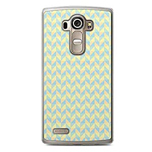 Floral LG G4 Transparent Edge Case - Geometry B
