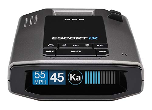 ESCORT IX - Laser Radar Detector, Auto Learn Protection, Extreme Long-Range, Bluetooth, Voice Alerts, OLED Display, Escort -