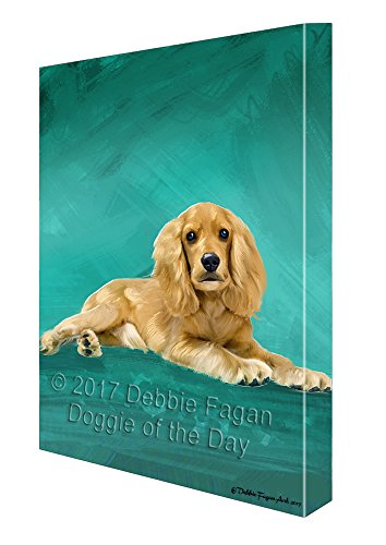 Cocker Spaniel Dog Wall Art Canvas - large dog wall art