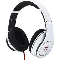 Beats Studio Wired Over-Ear Headphones NOT WIRELESS - White (Certified Refurbished)