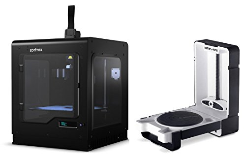 Zortrax M200 3D Printer with Official Side Covers + Matter and Form 3D Scanner Bundle Package by Zortrax/Matter and Form