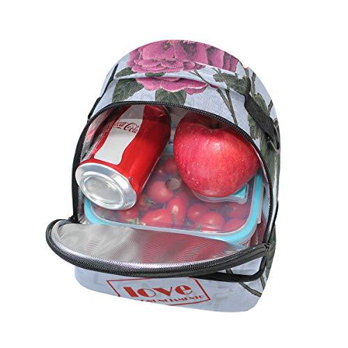 Alinlo ajustable aislamiento y Bolsa de de almuerzo el escuela para correa la hombro para con pincnic qwXXrvI