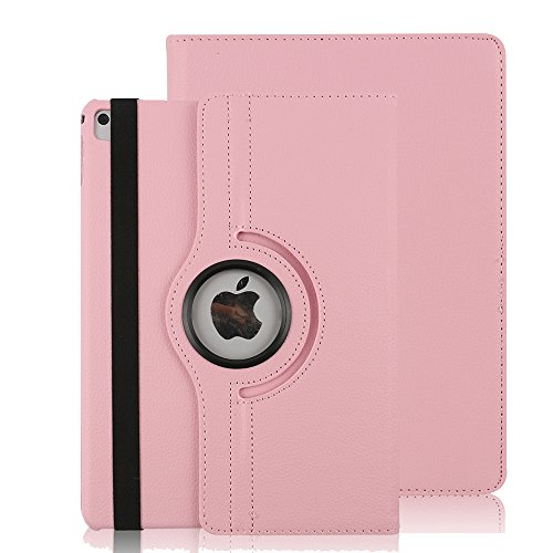 Price comparison product image iPad Mini 1 / 2 / 3 Case,Dream Wings 360 Degrees Rotating Multi-Angle Viewing Stand Screen Protective Cover for Apple iPad Mini / iPad Mini 2 / iPad Mini 3 7.9 inch Tablet (iPad Mini 1/2/3, Pink)